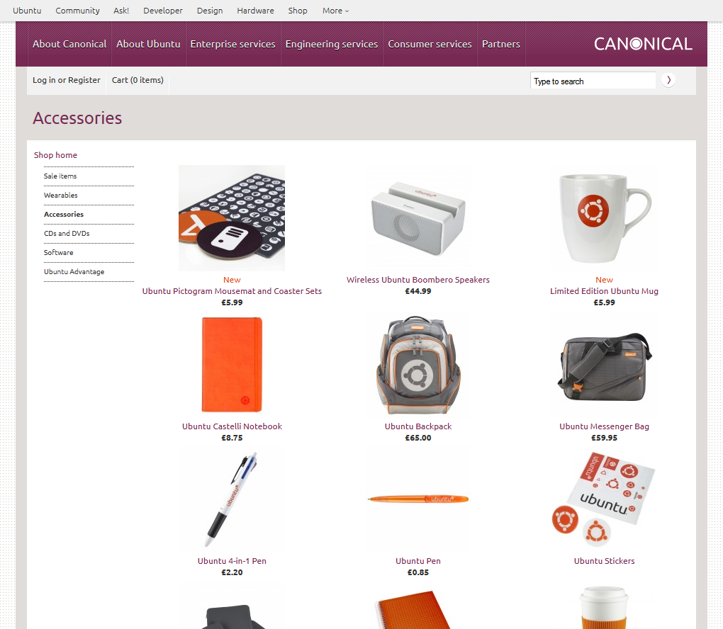Ubuntu Website